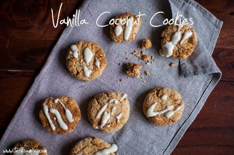 Kokosovi Piškoti z Vanilijo